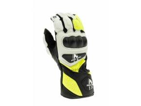 Moto rukavice RICHA RS 86 žluté fluo