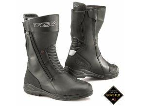 Moto boty TCX X-TOUR EVO Gore-Tex černé