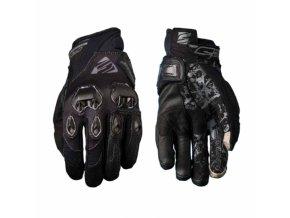 Dámské moto rukavice FIVE STUNT EVO černé