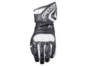 Moto rukavice FIVE RFX3 černo/bílé