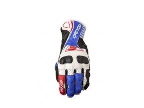 Moto rukavice FIVE RFX4 REPLICA bílo/modré