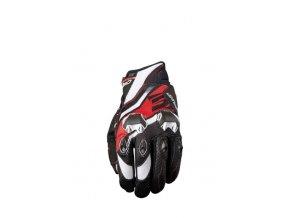 Moto rukavice FIVE STUNT EVO REPLICA ICON červené