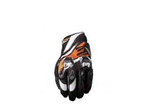 Moto rukavice FIVE STUNT EVO REPLICA ICON oranžové