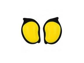 Slidery na kolena ZANDONA žluté fluo 3500/FL UNI