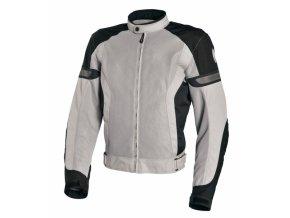 Moto bunda RICHA COOL SUMMER černo/šedá