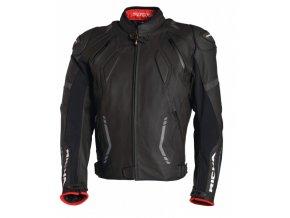 Moto bunda RICHA MUGELLO černá - nadměrná velikost