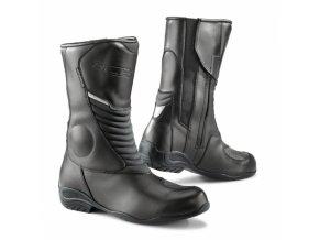 Dámské moto boty TCX LADY AURA PLUS WP černé