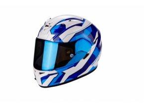 Moto přilba SCORPION EXO-710 AIR FURIO modrá