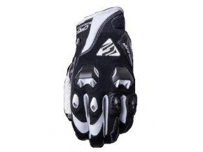 Moto rukavice FIVE STUNT EVO černo/bílé