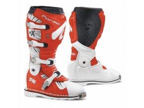 Moto boty FORMA TERRAIN TX bílo/červené