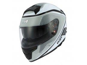 Moto přilba ASTONE GT1000F HEXA šedá