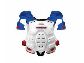 Chránič hrudi ACERBIS ROBOT bílo/červeno/modrý UNI