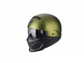 Moto přilba SCORPION EXO-COMBAT zelená matná