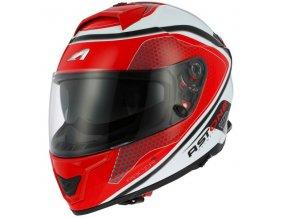 Moto přilba ASTONE GT1000F HEXA červená
