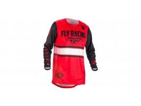dres Kinetic ERA 2018, FLY RACING - USA (černá/červená)