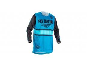 dres Kinetic ERA 2018, FLY RACING - USA (modrá/černá)