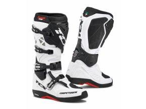 Moto boty TCX COMP EVO 2 MICHELIN® bílo/černé