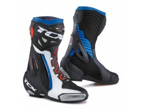 Moto boty TCX RT-RACE PRO AIR bílo/černo/modré