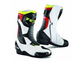 Moto boty TCX SP-MASTER AIR bílo/černo/červené