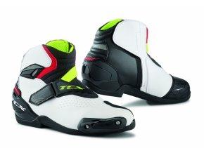 Moto boty TCX ROADSTER 2 AIR černo/bílo/červené