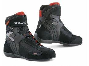 Moto boty TCX VIBE WP černé