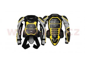 chránič těla DEFENDER ARMOR 180/195, SPIDI - Itálie (černý/žlutý)