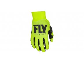 rukavice PRO LITE 2018, FLY RACING - USA (hi-vis)
