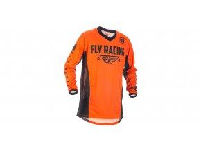 dres PATROL 2018, FLY RACING - USA (šedá/černá/oranžová)