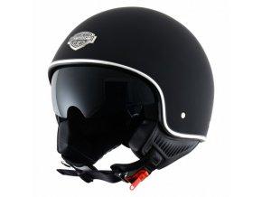 Moto přilba ASTONE MINIJET S 66 černá matná