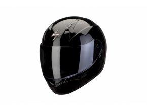 Moto přílba SCORPION EXO-390 solid černá