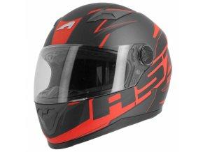Moto přilba ASTONE GT2 AST matná černo/červená