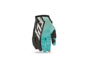 rukavice FLY Kinetic - FLY RACING - USA (modrozelená/černá)