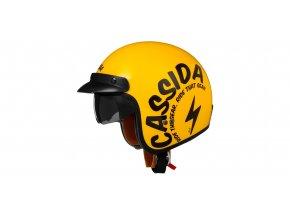 přilba Oxygen Gear, CASSIDA - ČR (žlutá/černá)