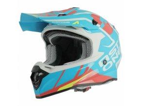 Moto přilba ASTONE MX800 TROPHY modrá
