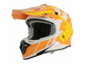 Moto přilba ASTONE MX800 TROPHY oranžová