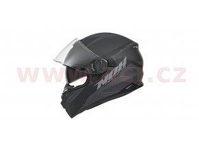 přilba N301 LAP, NOX (černá matná/šedá, balení vč. pinlock folie)