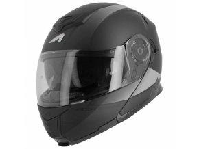 Moto přilba ASTONE RT1200 VANGUARD matná černo/antracitová