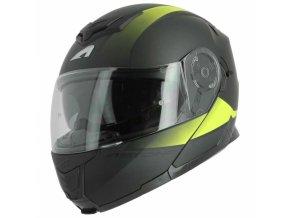 Moto přilba ASTONE RT1200 VANGUARD matná černo/žlutá