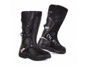 Moto boty ELEVEIT T SPIRIT 1 WP černé