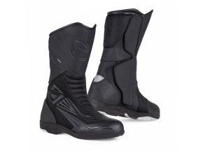 Moto boty ELEVEIT T AIR WP černé