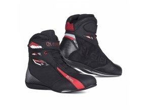 Moto boty ELEVEIT T SPORT černo/červené