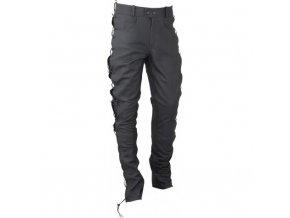 Pánské kožené moto kalhoty Spark Texas, šněrované matt