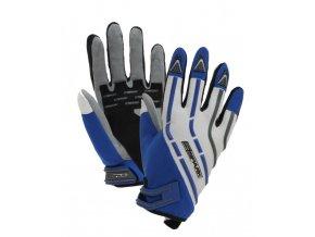 Textilní moto rukavice Spark Cross, modré