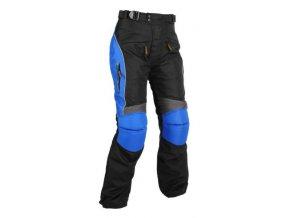Pánské textilní moto kalhoty Spark Colour, modré