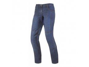 Dámské textilní moto kevlar jeansy Spark Desert rose