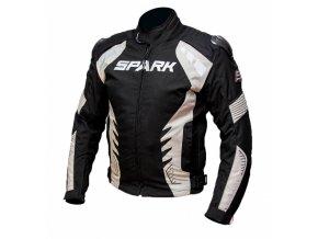 Pánská textilní moto bunda Spark Hornet černá