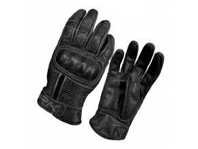 Pánské kožené rukavice Spark Crisp černé