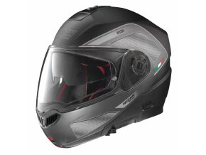 Moto helma Nolan N104 Absolute Tech N-Com Flat Black 27