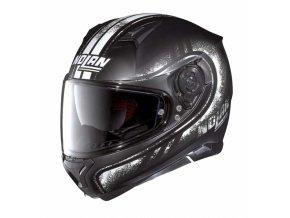 Moto helma Nolan N87 Fulgor N-Com Flat Black 21