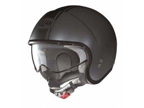 Moto helma Nolan N21 Caribe Flat Asphalt Black 14 - 2XS